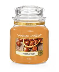 1623471e yankee candle golden chestnut medium jar chataignes dorees